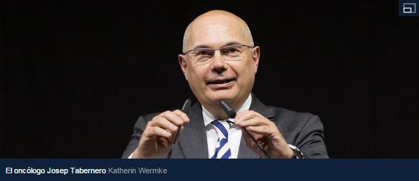 Josep Tabernero  de Vall d Hebron  presidente de los oncólogos europeos